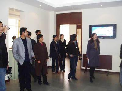我院教师参观青岛酒店管理学院校内实训基地-旅游外事学院与兄弟院